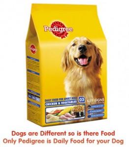 Free Sample Of Pedigree Dog Food