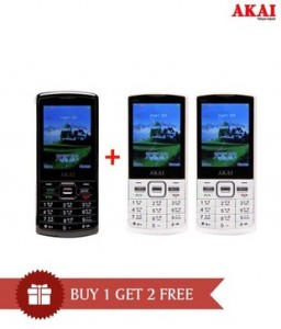 """4f731602778 21 Responses to """"Akai Mobiles Buy 1 Get 2 Free from Rs. 2990 – SnapDeal"""""""
