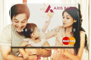 Axis Bank Debit Card With An Image Of Your Choice Rs 151