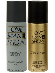 Jacques bogart one man show original gold deodorants rs for Moss motors buy here pay here