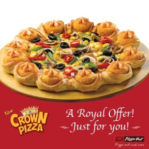 Pizza Hut Crown Pizza 50 Off Savemoneyindia