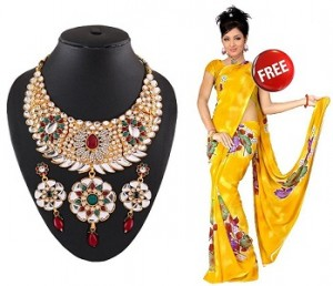 necklace-saree