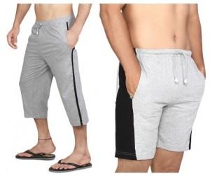 Clifton Men's Capri   Shorts Rs. 428 – HomeShop18 | SaveMoneyIndia