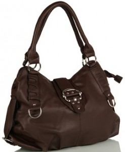 For Women Who Love To Carry Their World Along With Them This Coffee Handbag From Ladida Is A Perfect Pick Made Durable Non Leather Material
