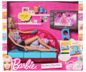 BabyOye Has Discounted Barbie Movies To Munchies Living Room To Rs. 599.  Features Room Play And Transformation Fun All In One, Doll Comes Dressed In  Cute ...