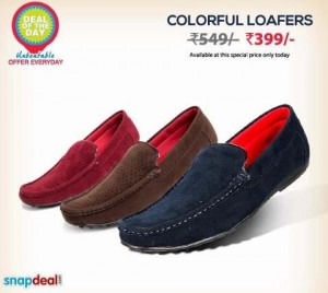 a4fdb3e4b16 SnapDeal is selling Bacca Bucci Loafers for Rs. 320. Features Fine stitch  detailing on perforated upper