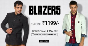 ec5387c19 SnapDeal is offering upto 30% off + 25% off on Blazers.