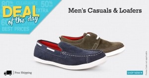 c269097c4bbb SnapDeal has Zapatoz Casual Shoes   Loafers for Rs. 297.