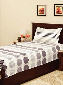 Printed Single Bed Sheet
