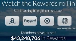 SwagBucks Win FlipKart e-Gift Vouchers   SaveMoneyIndia