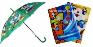 kids-umbrella-bath-towel