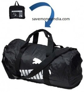82ff549826 Groupon has discounted Puma Foldable Bag to Rs. 499. Dimensions (in cm)  27  x 27 x 51 (H x W x L).