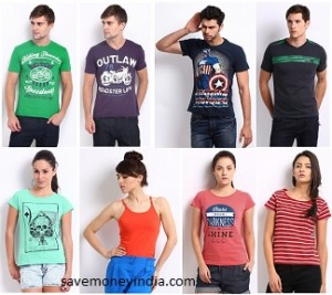 09e2079a72 T-Shirts Men's from Rs. 99, Women's from Rs. 49, Kids from Rs. 99 ...