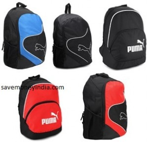 FlipKart is offering 60% off on Puma Backpacks. Automatic discount in cart.  Free shipping on orders above Rs. 500   Rs. 40 on orders below Rs. 500. 27f0c2ed2c78