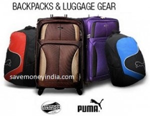 FlipKart is offering 40% off on American Tourister   Puma Bags. Free  shipping on orders above Rs. 500   Rs. 40 on orders below Rs. 500. 63ed643223d5