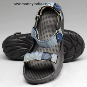 navyfont-sandals
