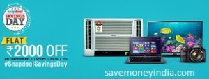 snapdeal-savings
