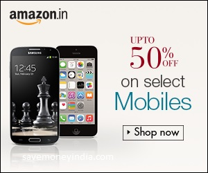 Mobiles Upto 50% off at Amazon