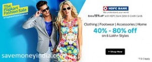 hdfc-flipkart-fashion