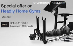 Headly home gyms upto 35% off free upto rs. 750 amazon gift card