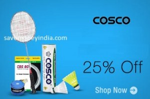 a82b3f2cf1 Amazon is offering 25% off or more on Cosco. Free delivery on orders of Rs.  499 or more   Rs. 40 on orders less than Rs. 499.
