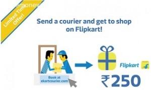 Rs  250 FlipKart Gift Card on Sending Courier – EKART