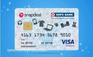 snapdeal-hdfc-credit-card