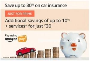 Acko Car & Bike Insurance upto 80% off – Amazon | SaveMoneyIndia